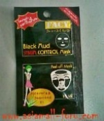 Facy Black Mud-sebum Control Mask