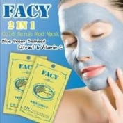 Facy Seaweed Whitening C Cold Scrub Mud Mask Wit.10ml