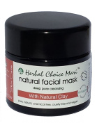 Herbal Choice Mari Natural Facial Mask m/w Plants and Earth 150g/ 150ml Jar