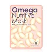 LACVERT, Omega-Nutritive Mask 10 sheets (elasticity, moisture, vitamin...