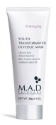 M.A.D Skincare Anti-Ageing Youth Transformation Glycolic Mask 60ml