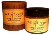 Maple Quinoa Exfoliating Cleanser Wild Carrot Herbals 60 ml (2 oz) Cream