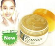 Mistine Kamin (Tumeric) + Honey Facial Mask Brightening Facial Cream Mask 40 G : 1 Piece