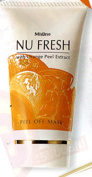 Mistine Nu Fresh with Orange Peel Off Extract Mask(50g) WITH COMPLIMENTARY
