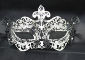 New Silver Mystic Elegant Luxury Beautiful Mask w/ Diamond Women's Mask Mardi Gras Majestic Party Halloween Ball Prom