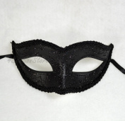 New Simple Black Mask Mardi Gras Venetian Halloween Ball Prom Masquerade Mask