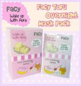 New!! (4) FACY Tofu Overnight Mask pack - With Arbutin Banana Honey Vitamin C 10ml