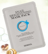 [Sidmool] Snail Brightening Mask Pack 20g Whitening