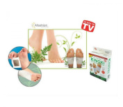 10 Pcs Kinoki Cleansing Detox Foot Pads Patch Foot Mask Peeling Sticker Hallux Valgus Spa Ion Tourmaline Massage Energizer *As Seen on Tv
