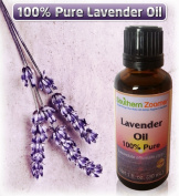 "Pure Lavender Oil (Lavandula Officinalis) - 30ml Bottle of 100% ""TRUE LAVENDER""...Undiluted, Natural Essential Oil therapy. This lovely oil can be used for Aromatherapy, Air Freshner, Acne, Dogs, Fleas, Hair, Burns, Face, Moths, Nails, Relaxation, Skin .."