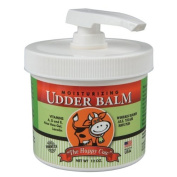 The Happy Cow Moisturising Udder Balm - 350ml pump