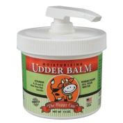 The Happy Cow Moisturising Udder Balm - 350ml pump