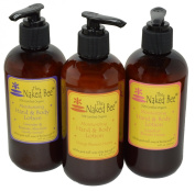 Naked Bee Hand & Body Lotion 240ml Variety Pack of 3 The Sweet Pack