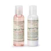 Stonewall Kitchen Grapefruit Thyme Travel Set