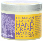Planet Botanicals Ugandan Shea Butter Hand Cream, Moringa with Cape Lavender, 120ml