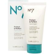 Boots No7 Protect & Perfect Hand Cream SPF 15 2.5 fl oz