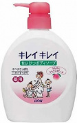 Lion Kireikirei | Body Shampoo | Fresh Peach Pump 580ml