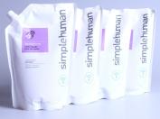 simplehuman - moisturising liquid hand soap refill pouch, lavender/vitamin E