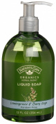 Nature's Gate Organics Liquid Hand Soap, Lemongrass & Clary Sage, 350ml Bottles