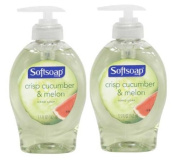 Softsoap Crisp Cucumber & Melon Hand Soap, 160ml