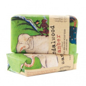 Olivina Sandalwood Amber Bar Soap 150ml