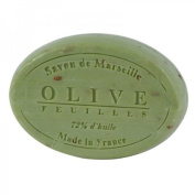 100ml Olive Leaf Oval French Soap