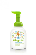 BabyGanics Foaming Hand Soap, Unscented, 8.45-Fluid Ounce Bottles (Pack of 2), Packaging May Vary