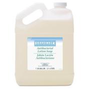 Boardwalk Antibacterial Liquid Soap, Floral Balsam, 3.8lBottle - four bottles.