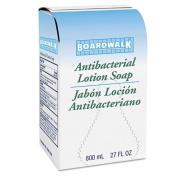 Boardwalk Antibacterial Soap, Floral Balsam, 800ml Box - 12 bottles.