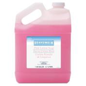 Boardwalk Mild Cleansing Pink Lotion Soap, Lt Floral Scent, Liquid, 3.8lBottle - 4 bottles of soap.