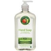 Earth Friendly Hand Soaps Organic Lemongrass 500ml