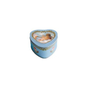 Heart Soap in Tin Box with Cupid on a Cloud
