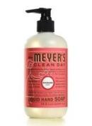 Mrs. Meyers Rhubarb Liquid Hand Soap 6x 370ml