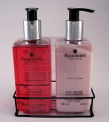 Pecksniff's Hand Wash & Lotion Duo Ruby Orange & Watermelon Limited Edition Set - 300ml each