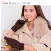 New women gloves Warm gloves for ladies Touch gloves warm Wool gloves
