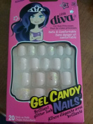 Little Diva Gel Candy Nails - 20 Stick on Nails 60701/BLDG03