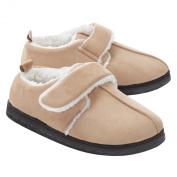 Best Friend Adjustable Slippers C:Tan S:Mens S