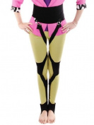 Men Women Unisex O Form X Form Leg Correction Band Free Walk Recovery Corrector Black