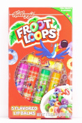 Kellogg's Froot Loops 5 Flavoured Lip Balms