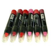 6 Creamy Lip Crayon Twist Up Auto Jumbo Lip Pencils Lipstick Pencils In 6 Different Colours New