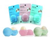 EOS Organic Lip Balm- Organic Blueberry Acai, Organic Strawberry Sorbet, Organic Sweet Mint.