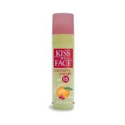 Kiss My Face Organic Cranberry Orange Lip Balm, SPF 15, 5ml Stick