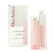 Christian Dior Dior Addict Lip Experts Duo (1x Lip Glow, 1x Lip Maximizer) - 2pcs