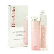 Christian Dior Dior Addict Lip Experts Duo (1x Lip Glow, 1x Lip Maximizer) - 2pcs