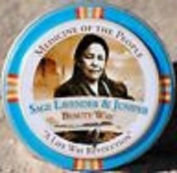 3 Tins of Navajo Medicine Of The People Sage Lavender & Juniper Beauty Way Balm 20ml each, Outstanding Product