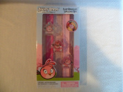 The Angry Birds Girls Slap Bracelet and Lip Gloss 5 Piece Set