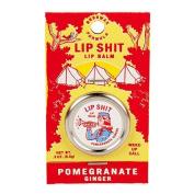 BlueQ Lip Shit Lip Balm-Pomegranate Ginger