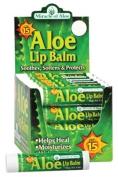 Miracle Of Aloe 22005 Aloe Lip Balm SPF 15