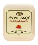Aloe Veda Moisturising Bathing Bar Honey 100g