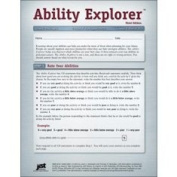 DSS Ability Explorer, Third Edition